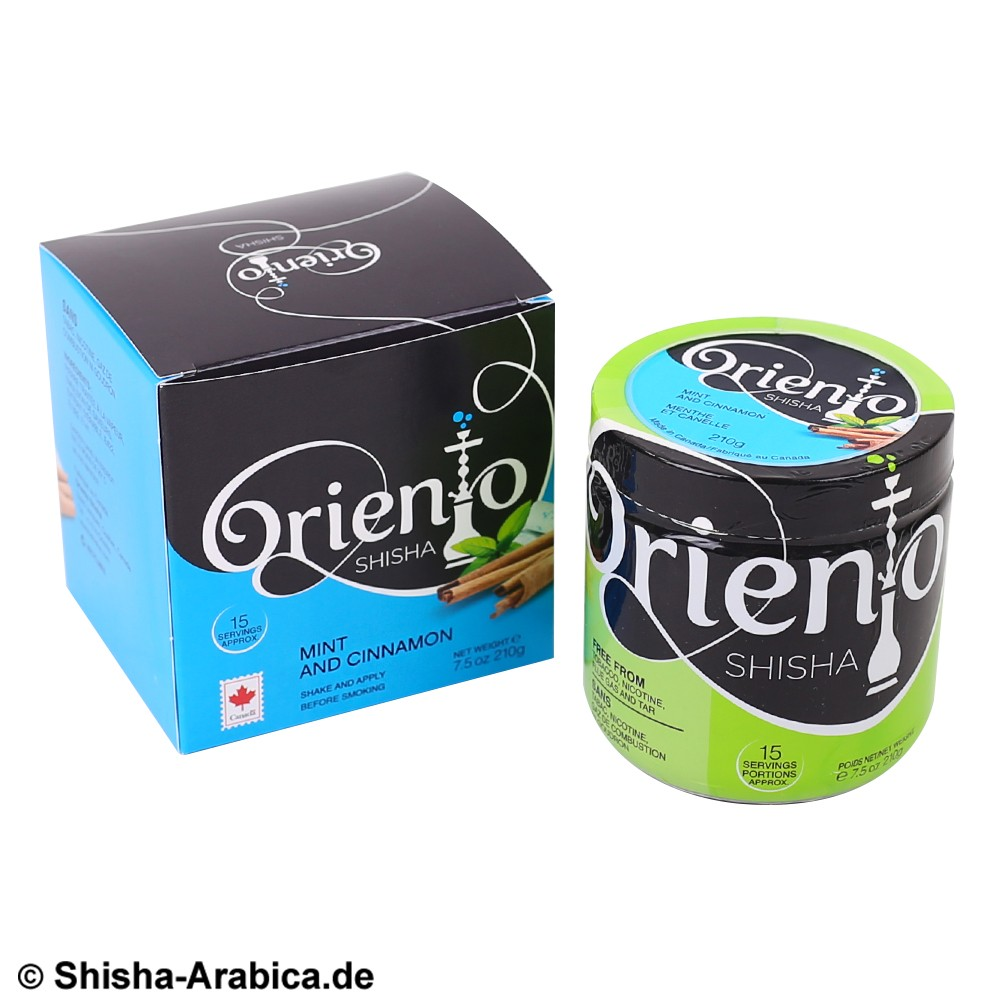 Oriento Cinnamon and Mint 210g