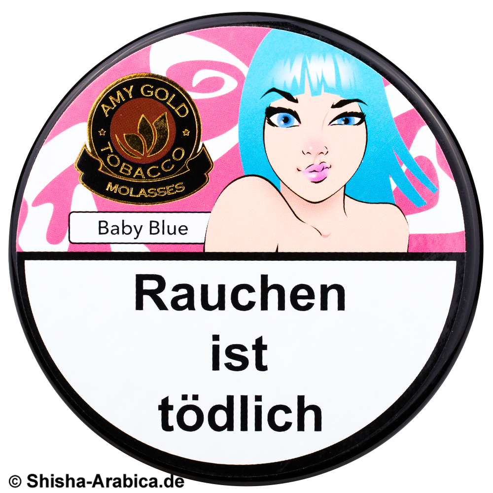 Amy Gold Baby Blue 200g