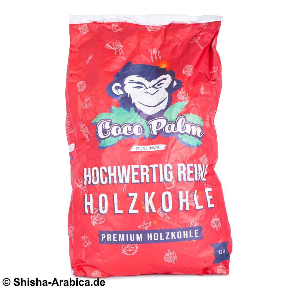 CocoPalm Premium Holzkohle 10kg (Grill/BBQ)