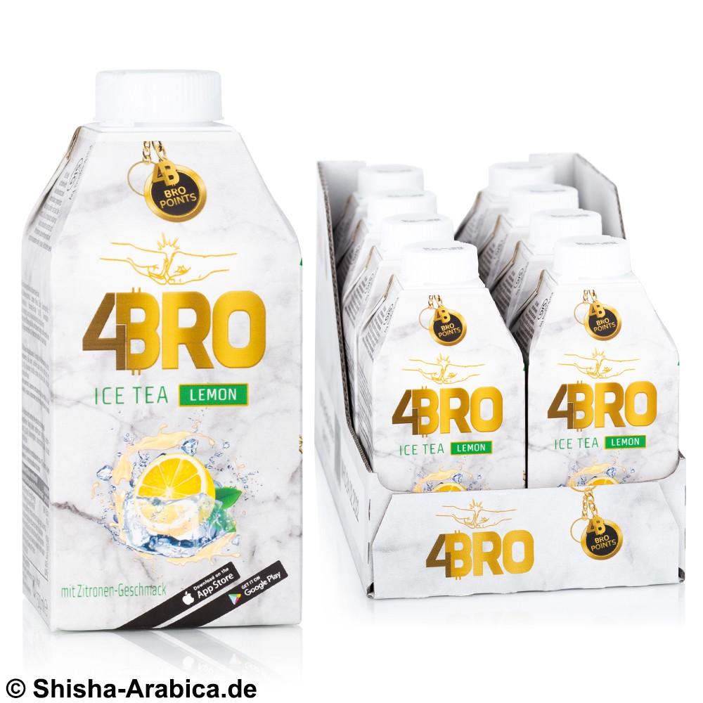 4BRO Ice Tea - Lemon - 8 x 500ml