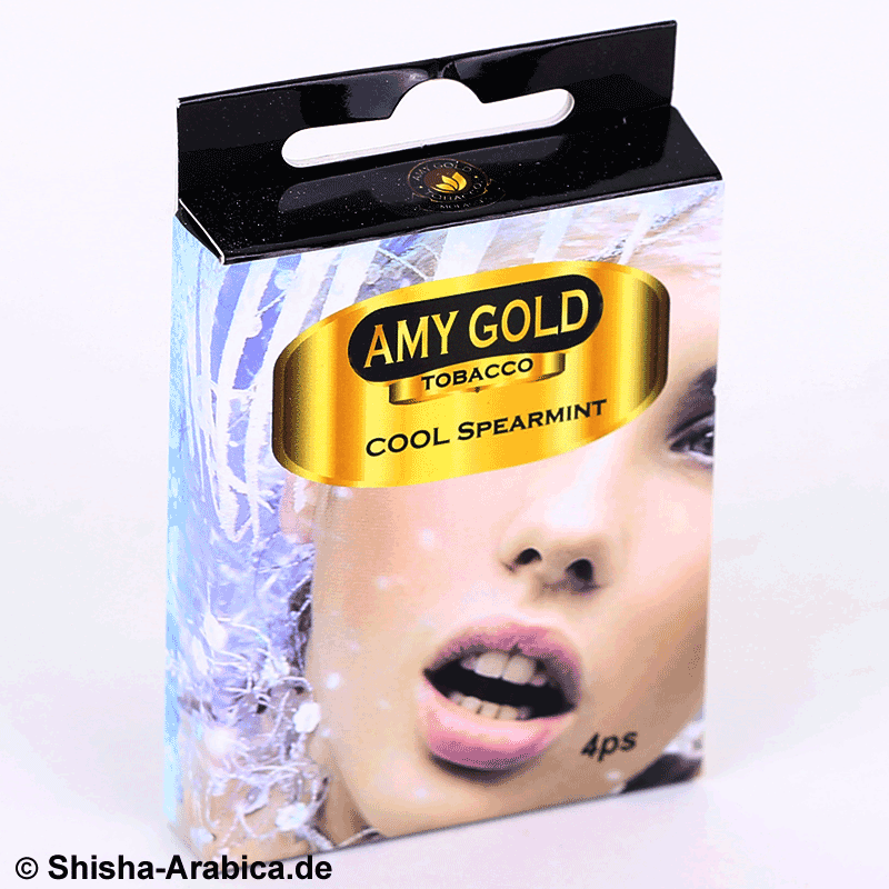 Amy Gold My Smoke Kartusche Cool Spearmint 4er Pack