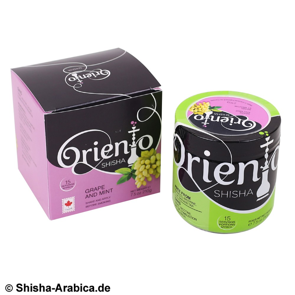Oriento Grape and Mint 210g