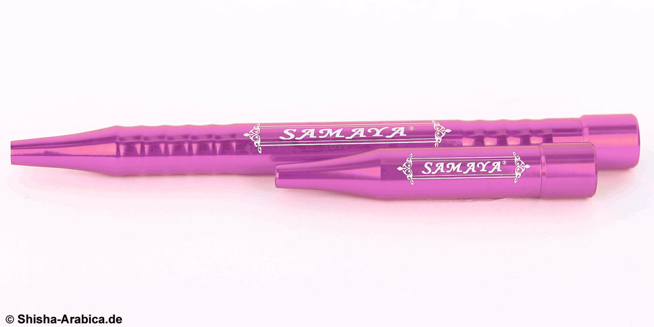 Samaya Aluminium Mundstück Set Pink