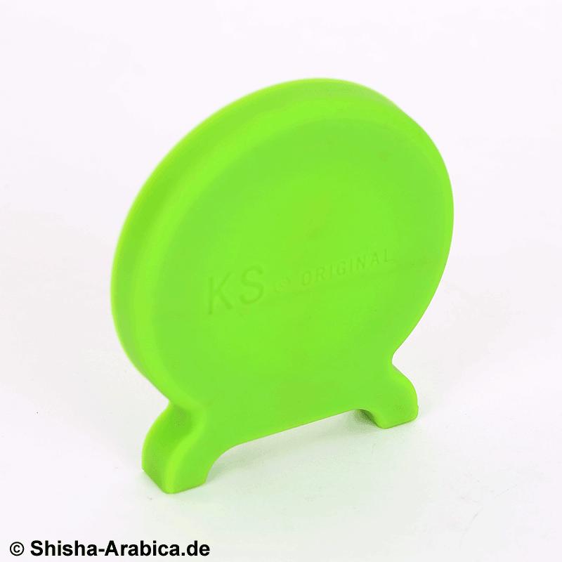 KS T-ONE Silikon Seitendeckel Grün