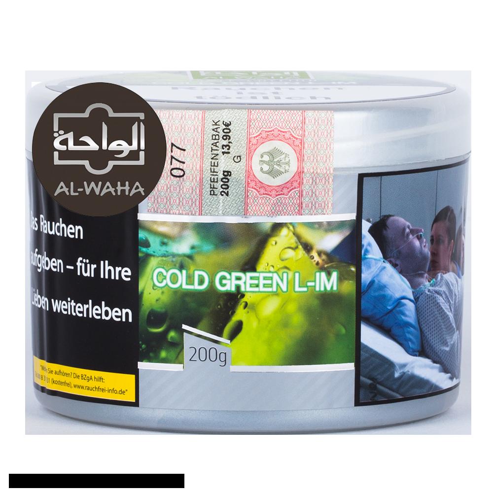 Al Waha Cold Green Lim 200g