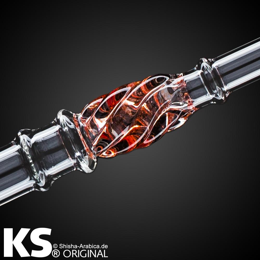 "KS Glas Liner ""Minea Pro"" Red 50cm"