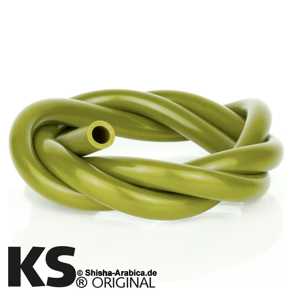 KS Silikonschlauch Olive
