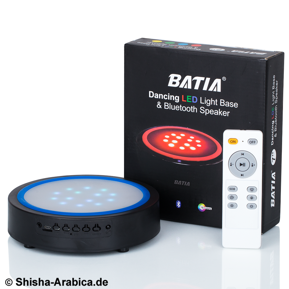 Batia Dancing LED Light Base & Bluetooth Speaker