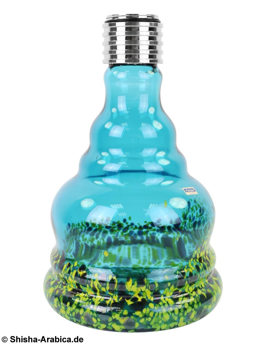MYA MX Aqua Bubble Yellow/Black Glas
