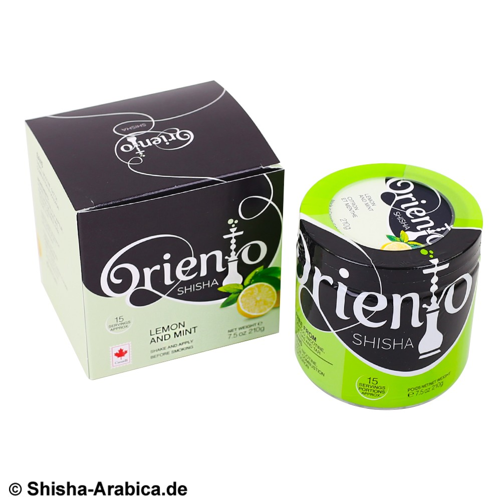 Oriento Lemon and Mint 210g