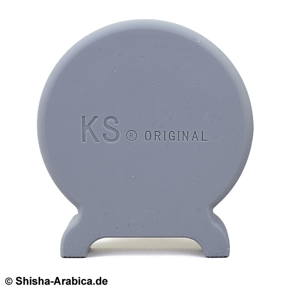 KS T-ONE Silikon Seitendeckel Grau