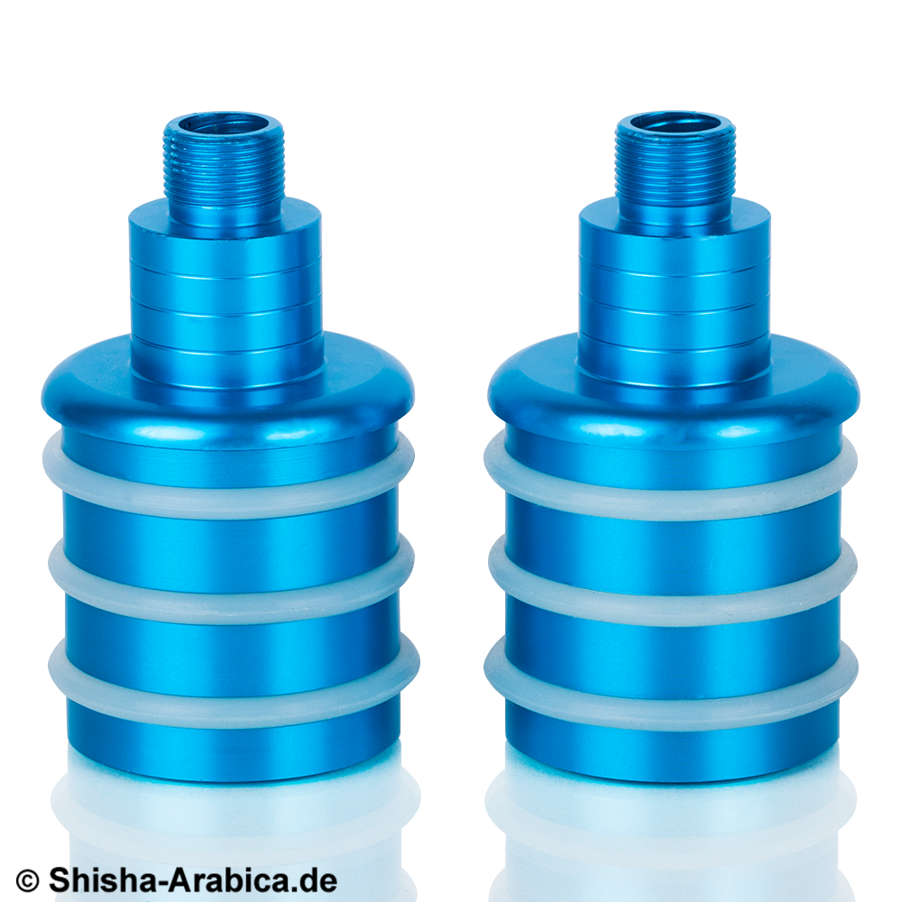 KS Glasrauchsäulen-Adapter Set Türkis