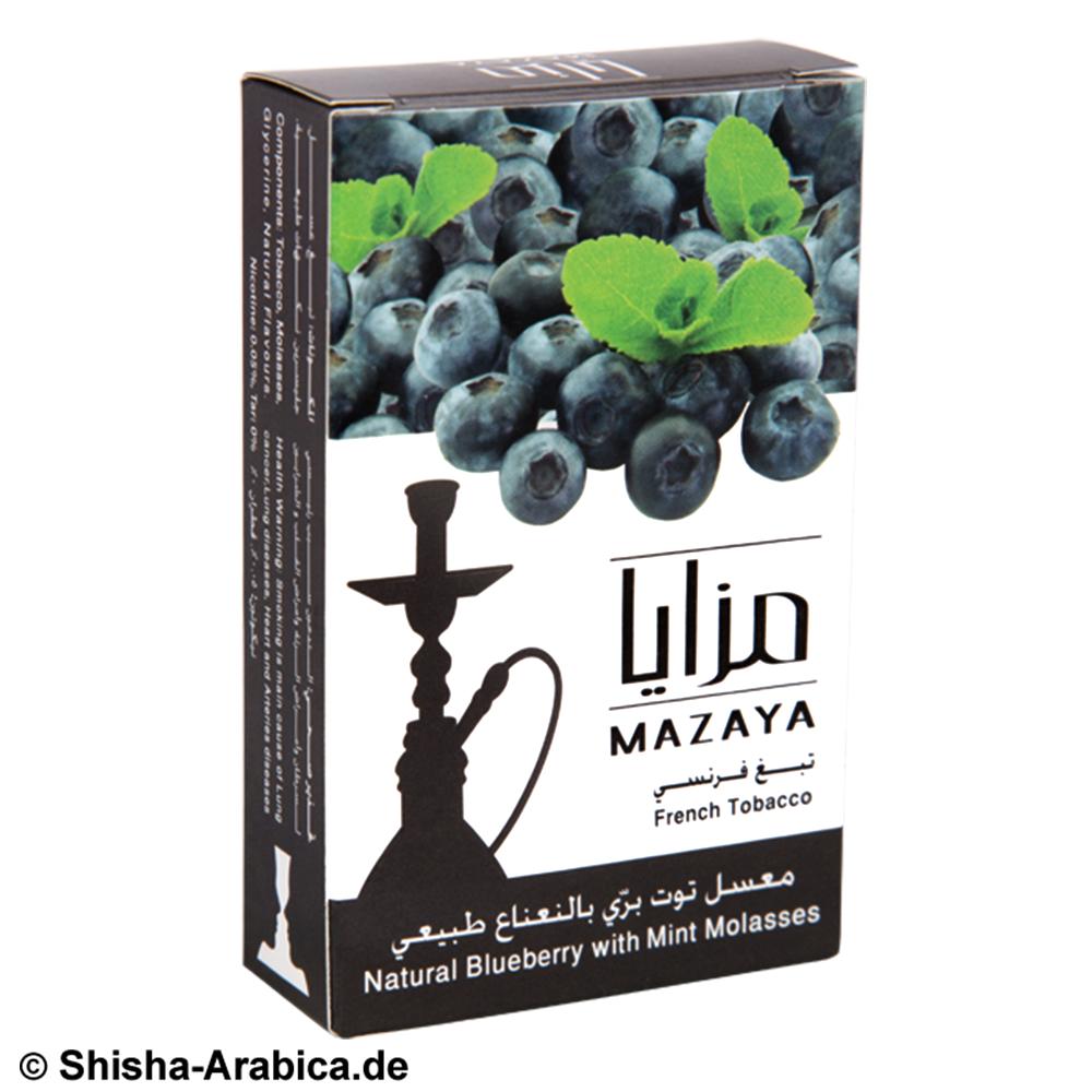 Mazaya Ice Blaubeere-Minze 50g