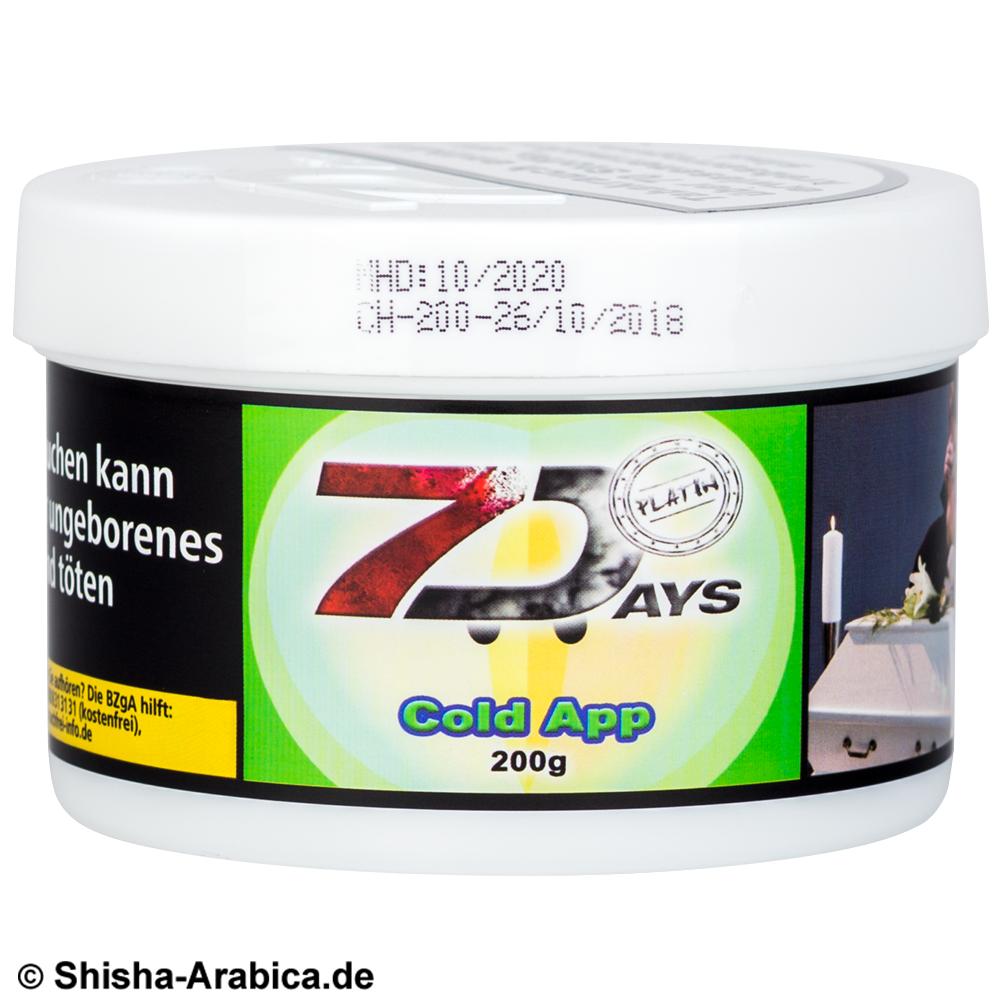 7 Days Platin Cold App 200g