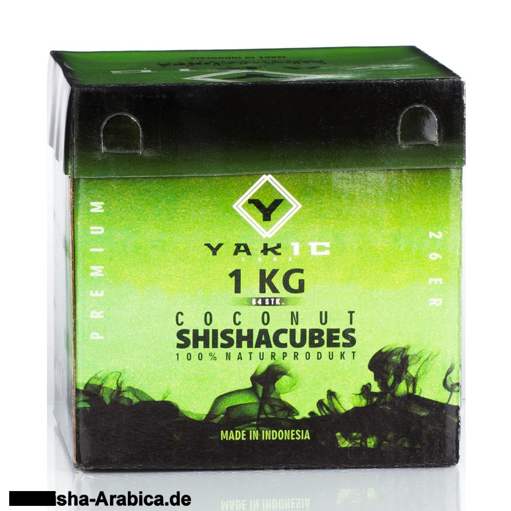 Yakic Cubes Naturkohle 1kg