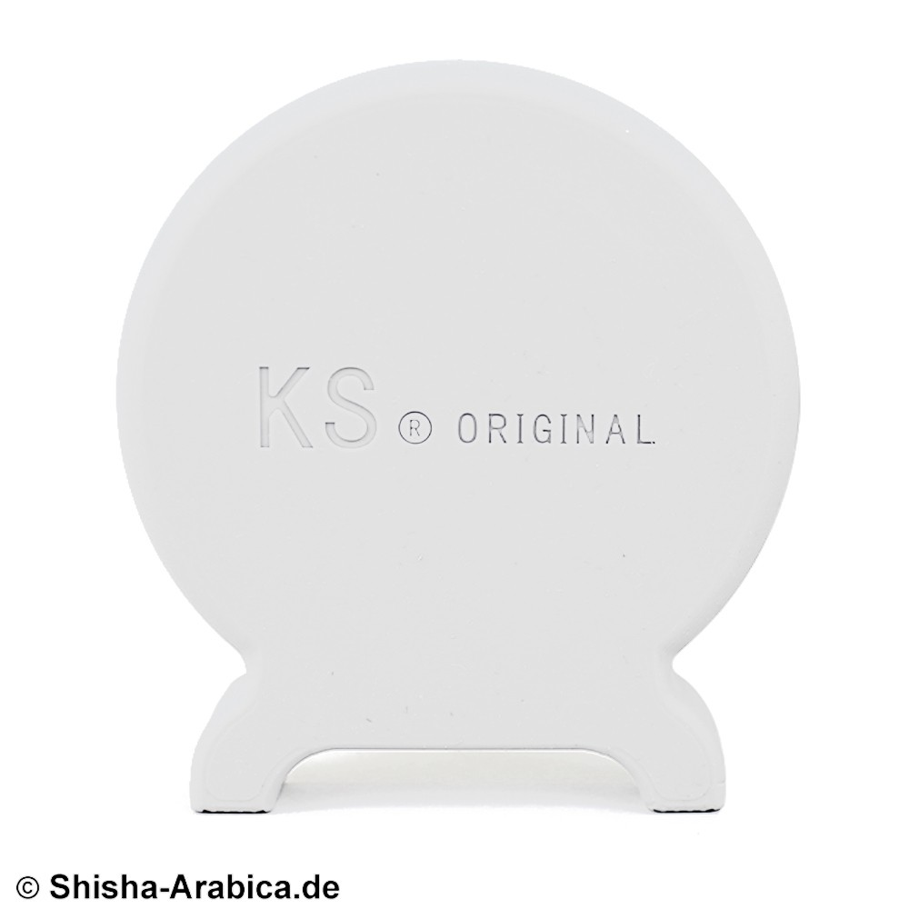KS T-ONE Silikon Seitendeckel Weiss