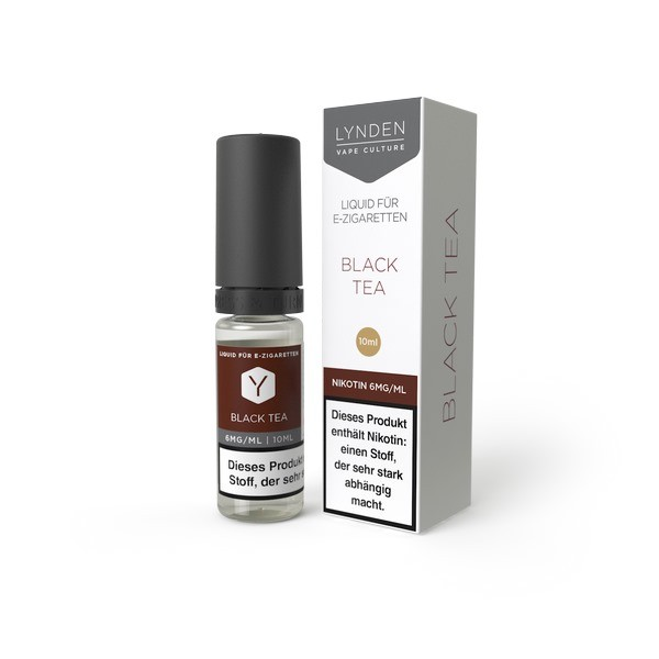 LYNDEN E-Liquid Black Tea 0MG - Ohne Nikotin
