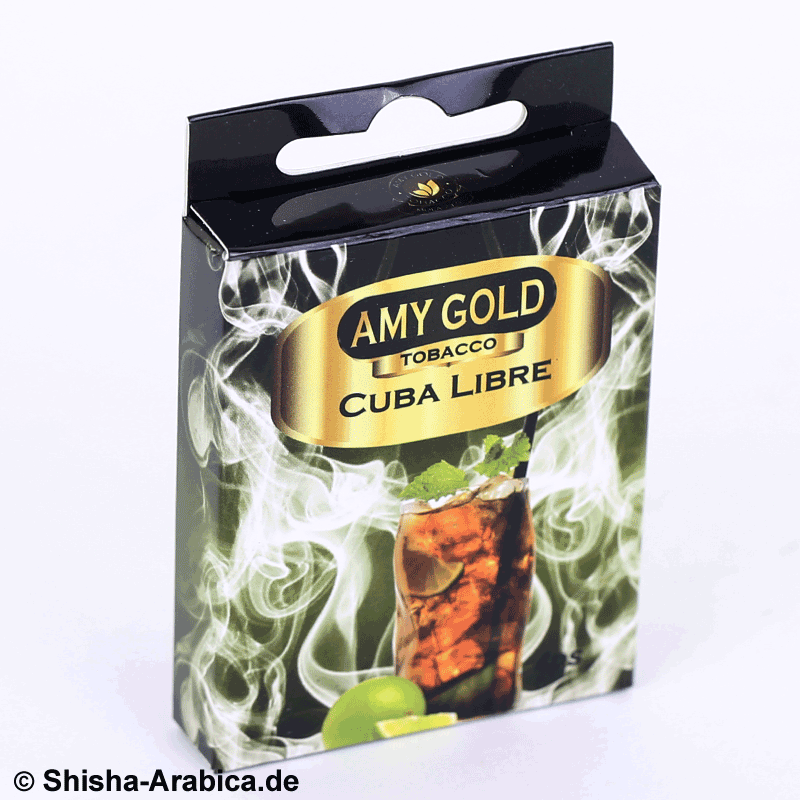 Amy Gold My Smoke Kartusche Cuba Libre 4er Pack