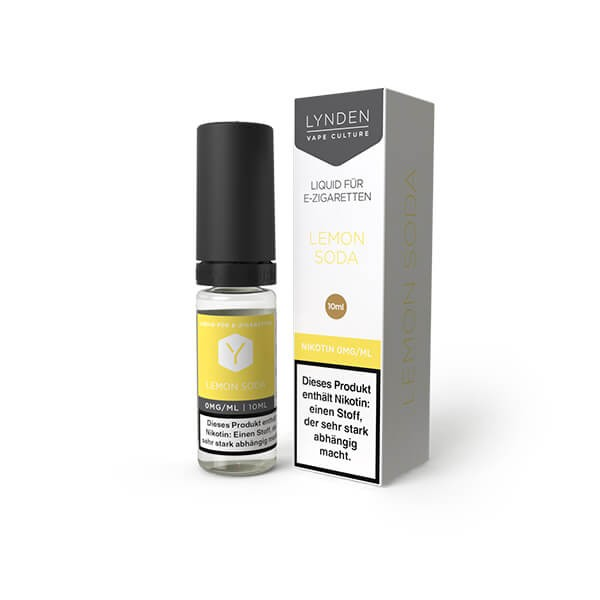LYNDEN E-Liquid Lemon Soda 0MG - Ohne Nikotin