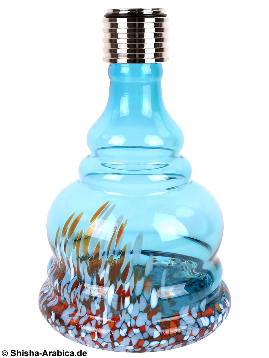 MYA MX Aqua Bubble Orange/Aqua Glas