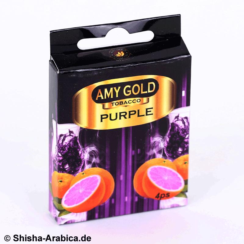 Amy Gold My Smoke Kartusche Purple 4er Pack