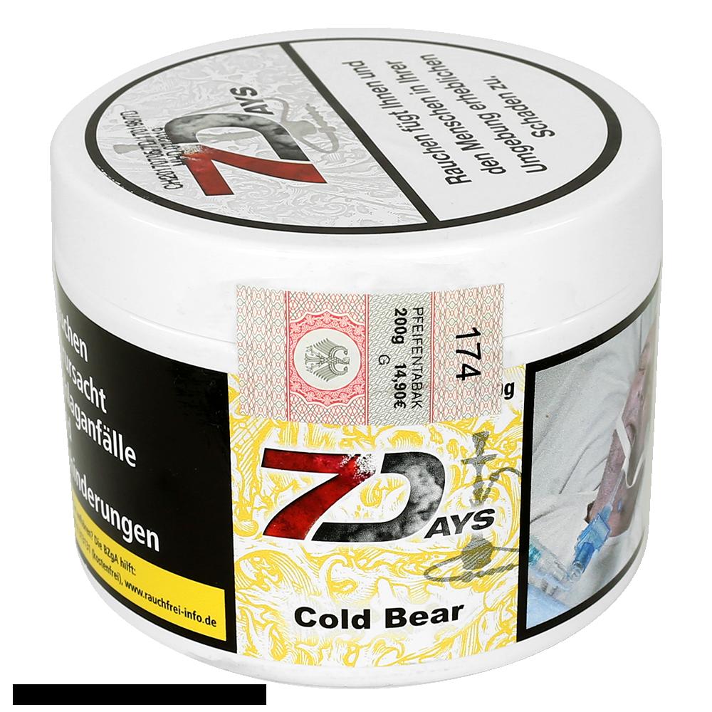 7 Days Cold Bear 200g