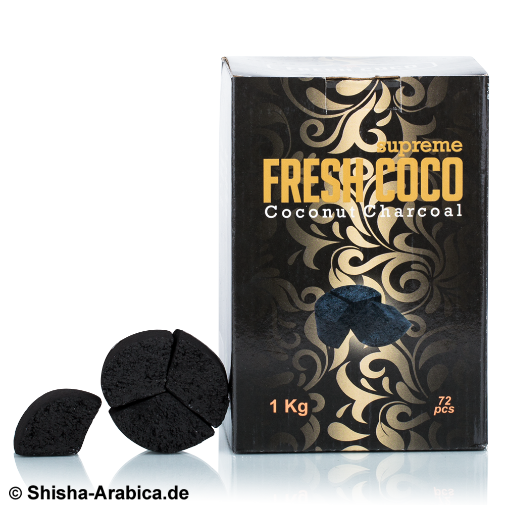 Fresh Coco Supreme Natural Charcoal 1kg