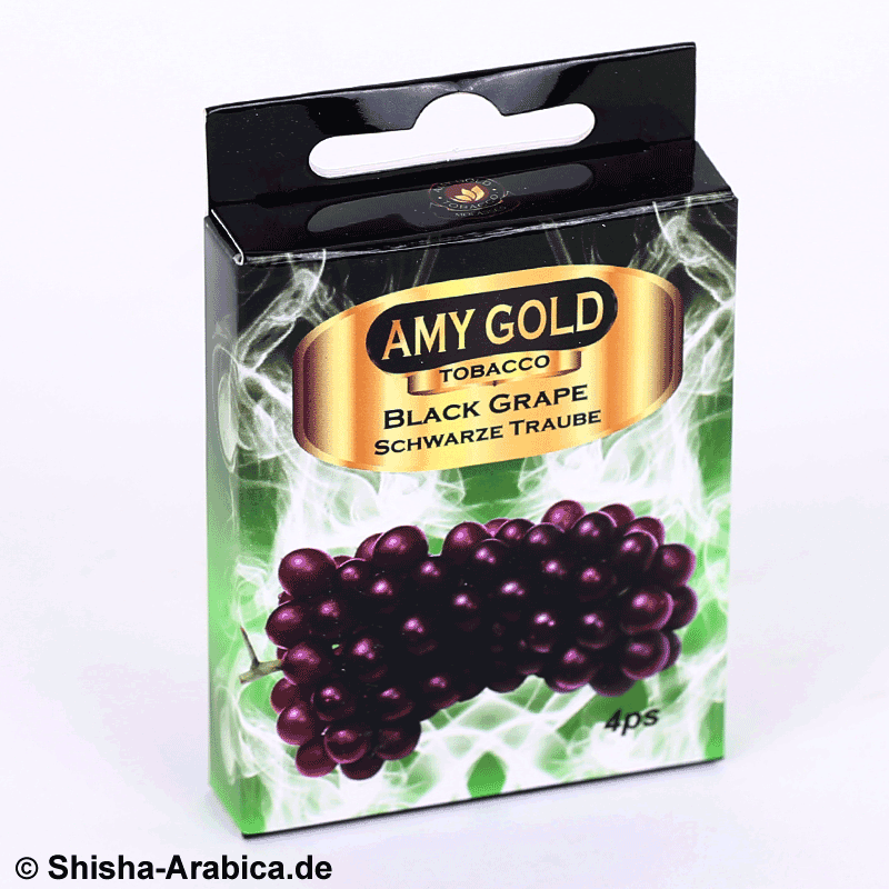 Amy Gold My Smoke Kartusche Black Grape 4er Pack
